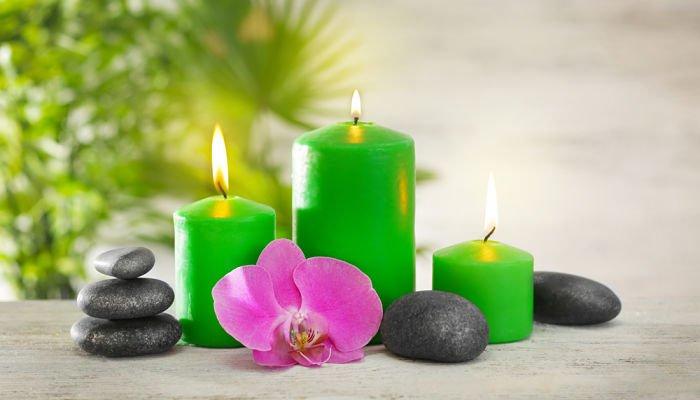 significado de las velas verdes