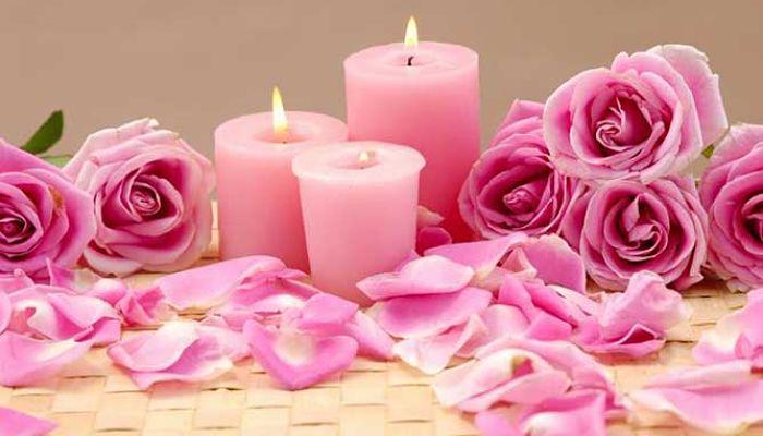 significado de las velas rosadas