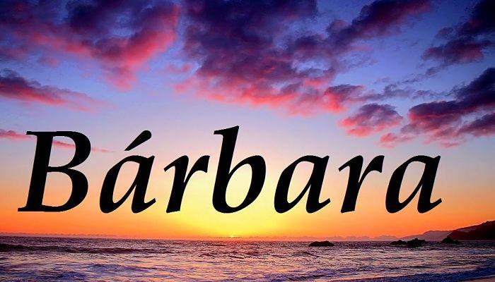 Significado De Bárbara 2